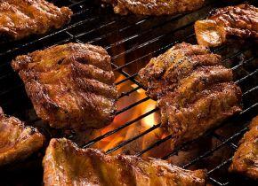 Hjemmelavede BBQ Spareribs. (til 2 personer)